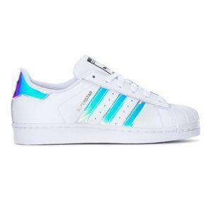 Adidas Superstar Iridescents boys girls kids GS